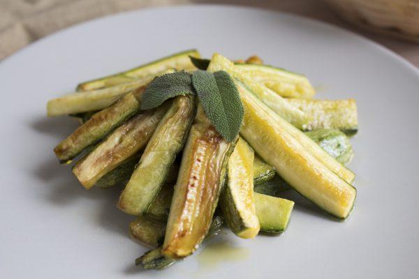 zucchine e salvia